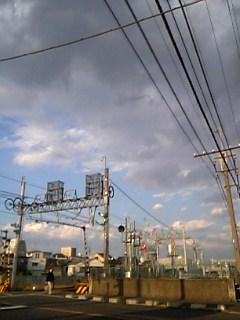 地元の空模様