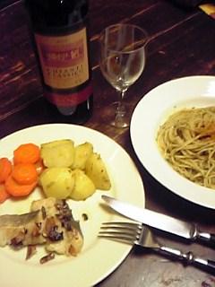 そして夕飯